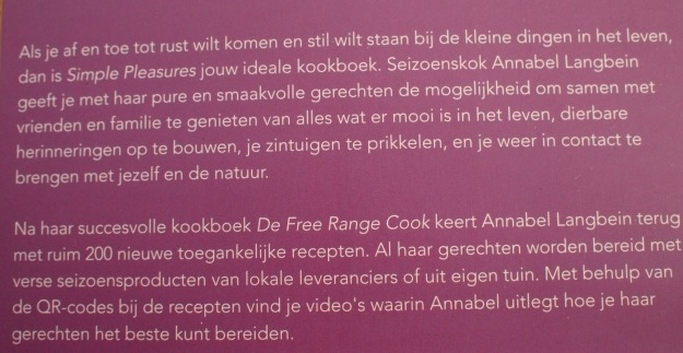 Kookboek Review: Annabel Langbein – Simple Pleasures