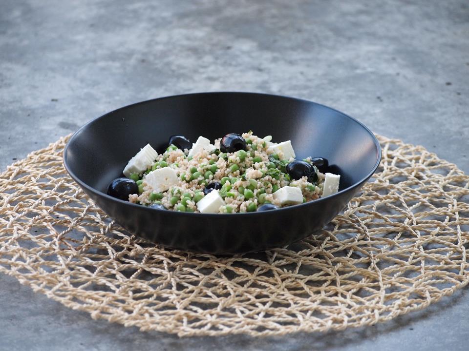Zomerse Spelt Couscous Salade