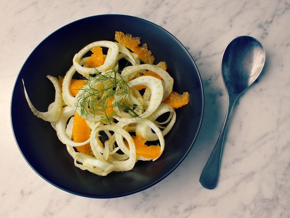 Zomerse Venkel Salade met Sinaasappel