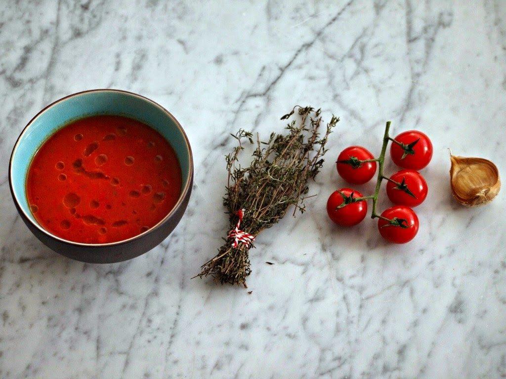 Luie Tomatensoep (klaar in 15 minuten!)