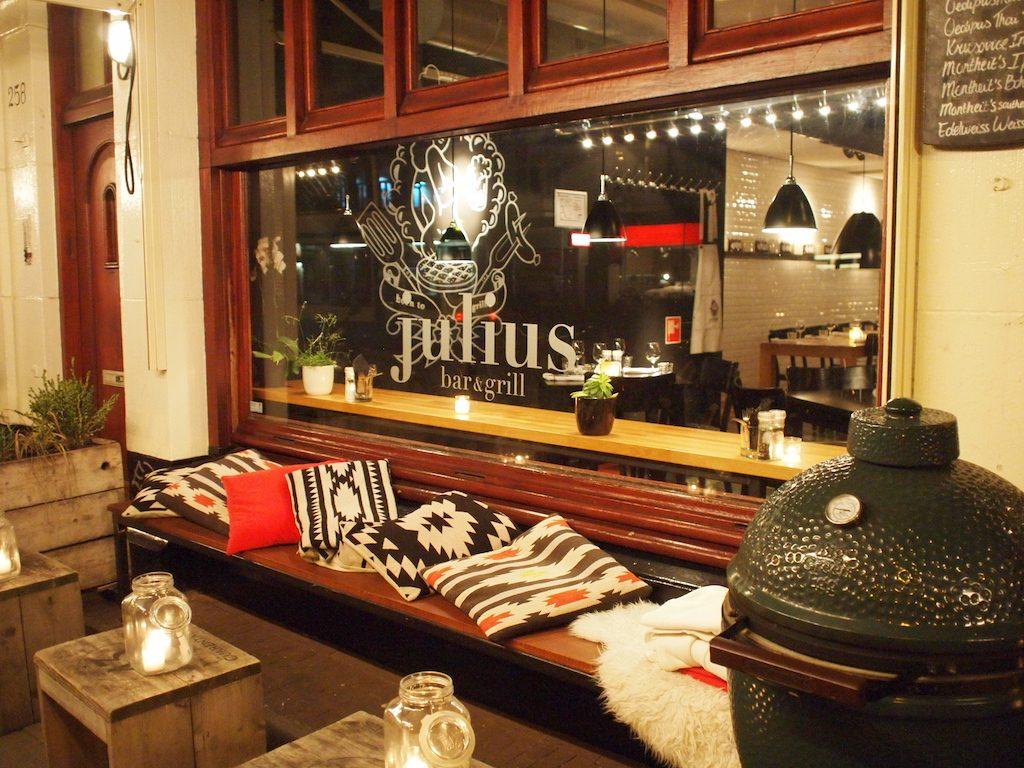 Arthur's recensie: Julius Bar & Grill