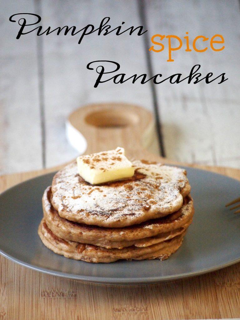 Herfst Pancakes (met Pumpkin Spice!)