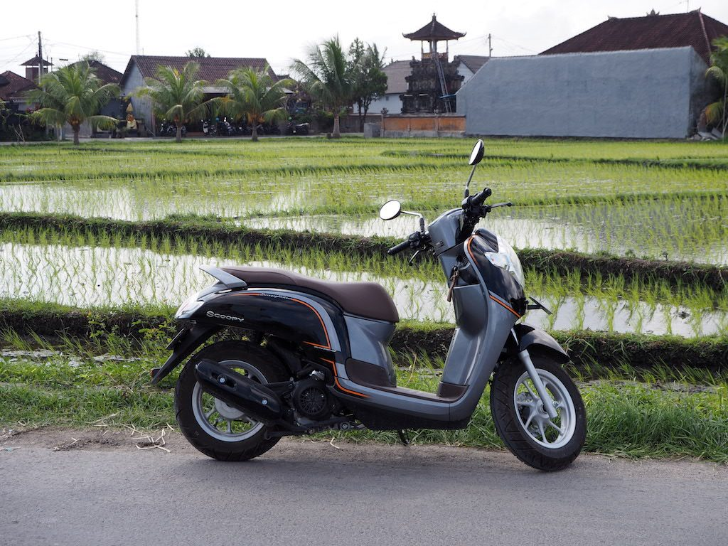 Scooter huren op Bali: tips en tricks