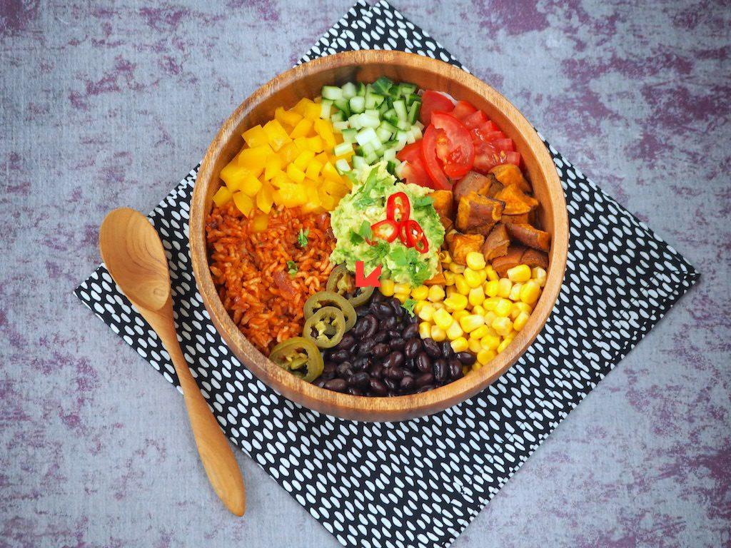 Vegan Burrito Bowl: een klein feestje
