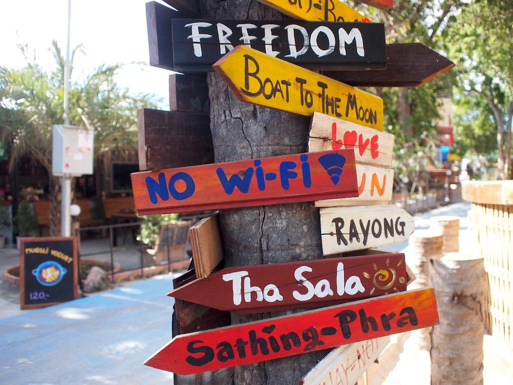 Mijn route voor 3 weken Zuid-Thailand