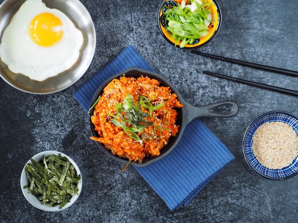 Kimchi Fried Rice | Pittige Koreaanse Nasi