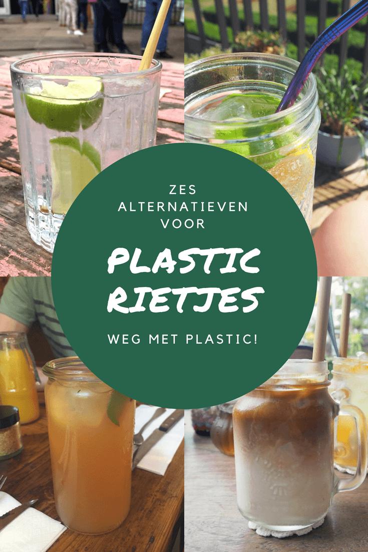 Weg met plastic! Goede alternatieven voor plastic rietjes