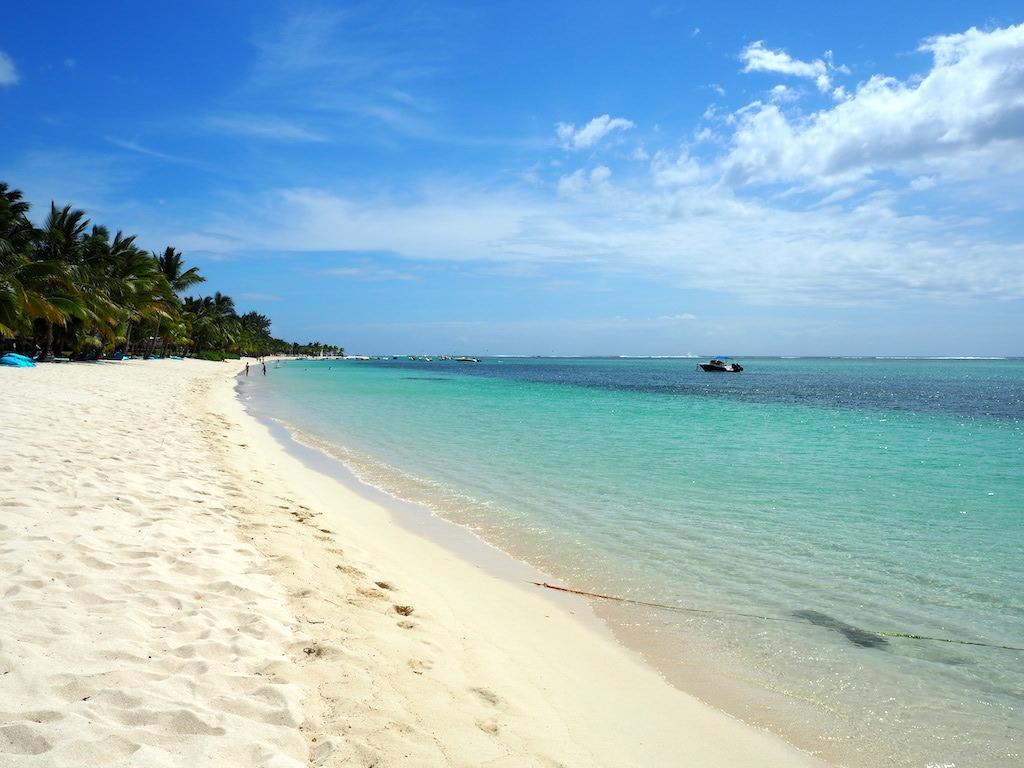 Favoriete stranden op Mauritius