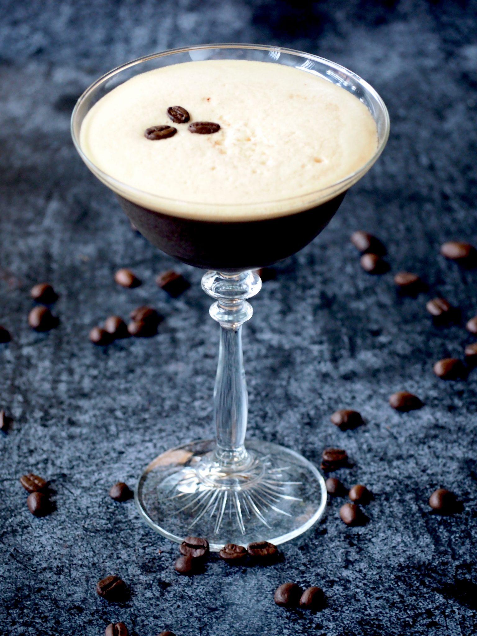 Espresso Martini – een heerlijke koffie cocktail