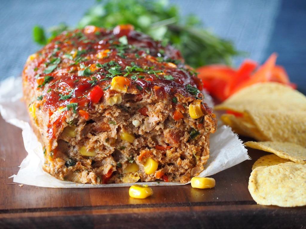 Mexicaans gehaktbrood met chorizo