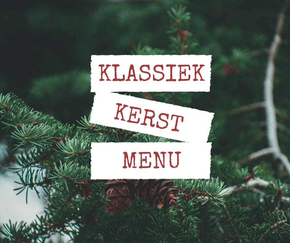 Kerstmenu met Kalkoen (een tikje traditioneel)
