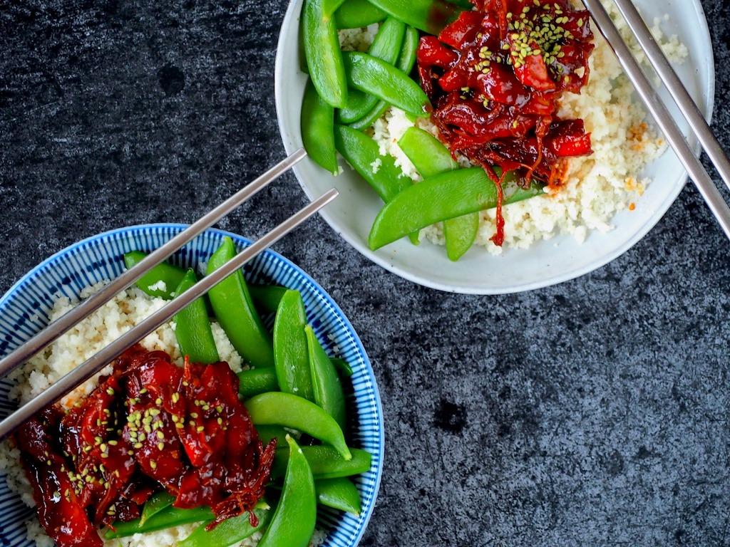 Super malse Koreaanse kip uit de Instant Pot