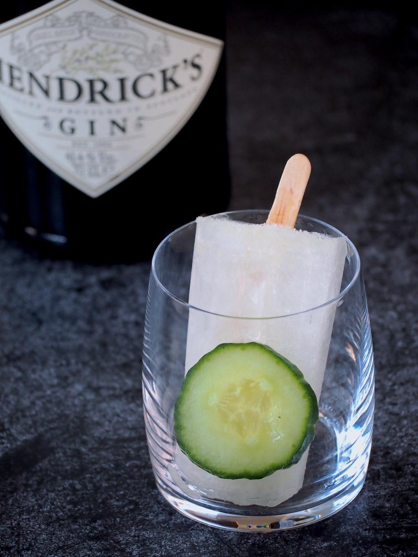 Gin Tonic ijsjes – feest op een stokje