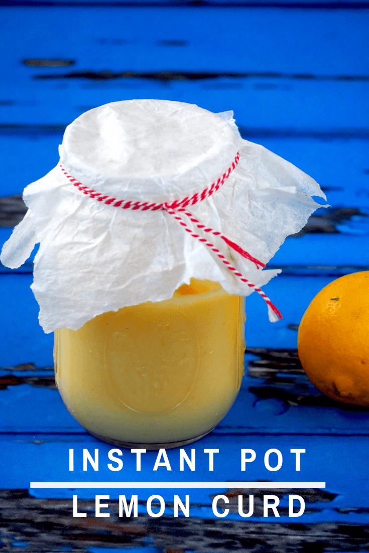 Instant Pot lemon curd die niet kan mislukken