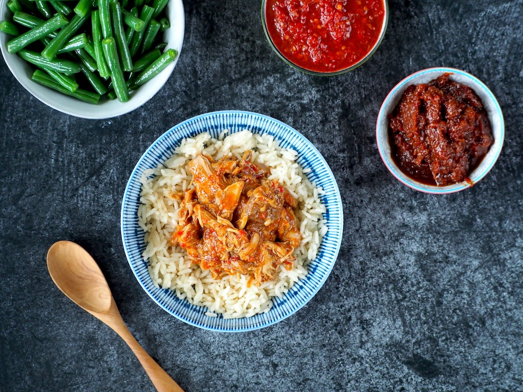 Sambal Kip (inclusief Instant Pot recept)