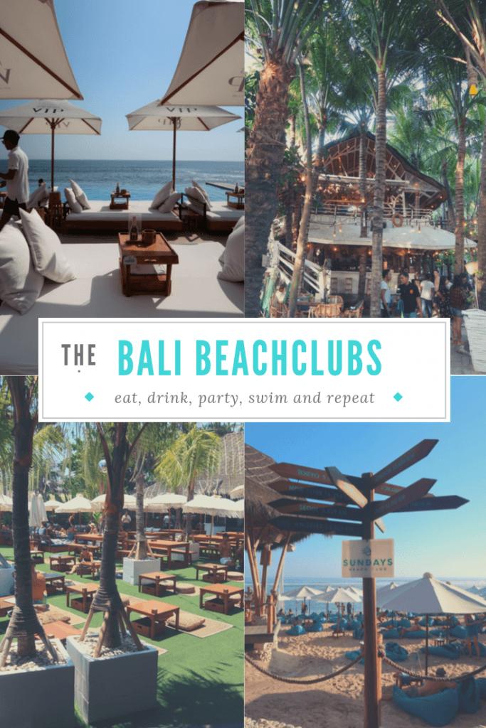 Bali Beachclubs – De leukste op een rij