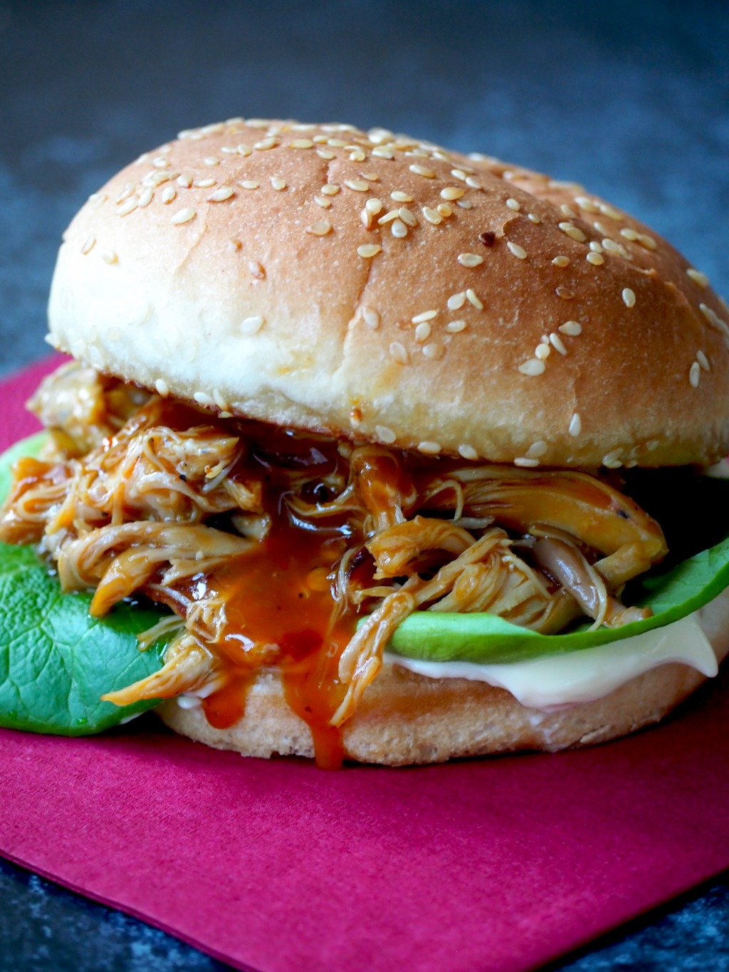 Lazy BBQ pulled chicken (inclusief Instant Pot recept)