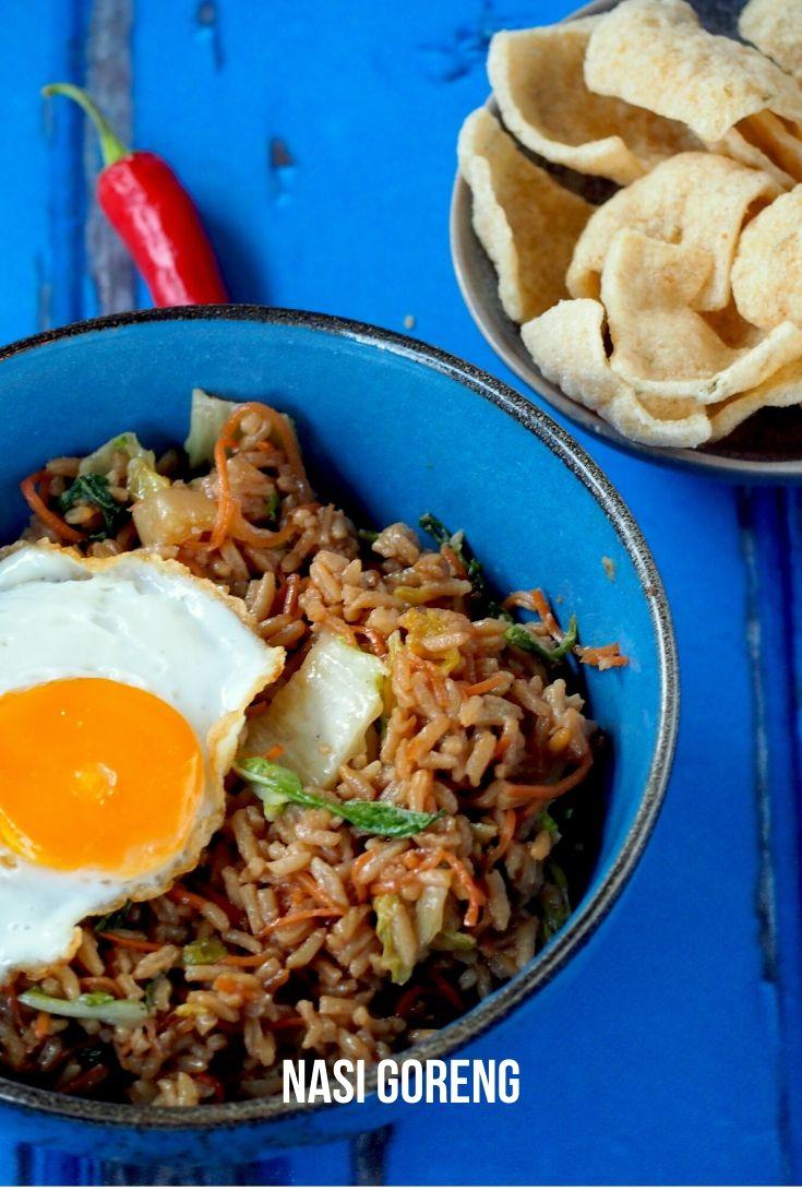 Indonesische Nasi Goreng, super simpele klassieker!