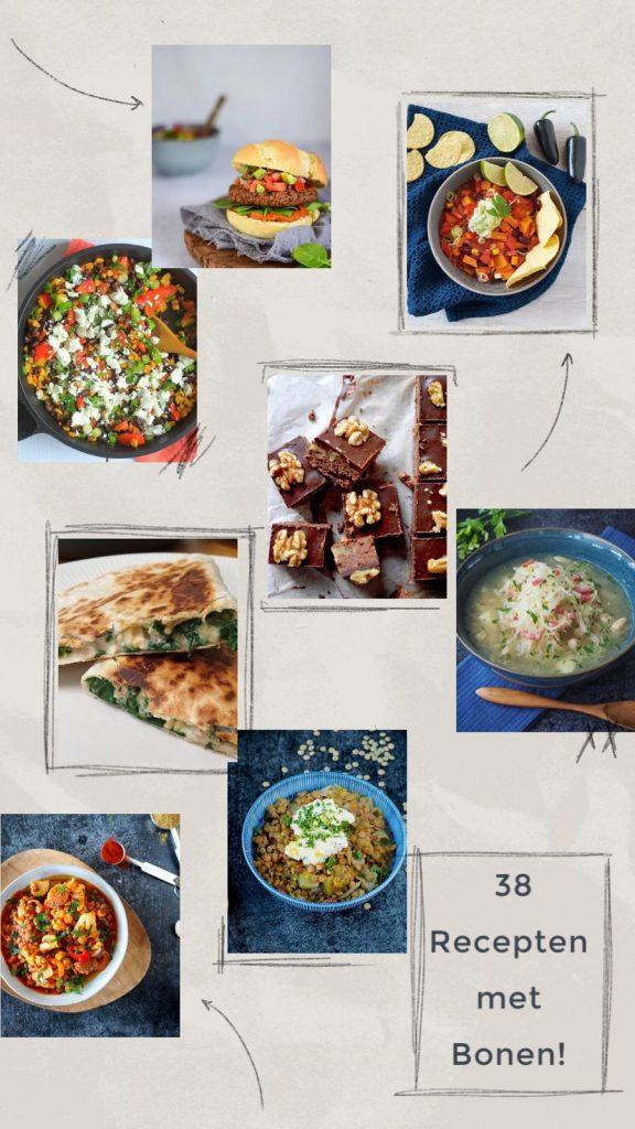 38 x Heerlijke Recepten met bonen